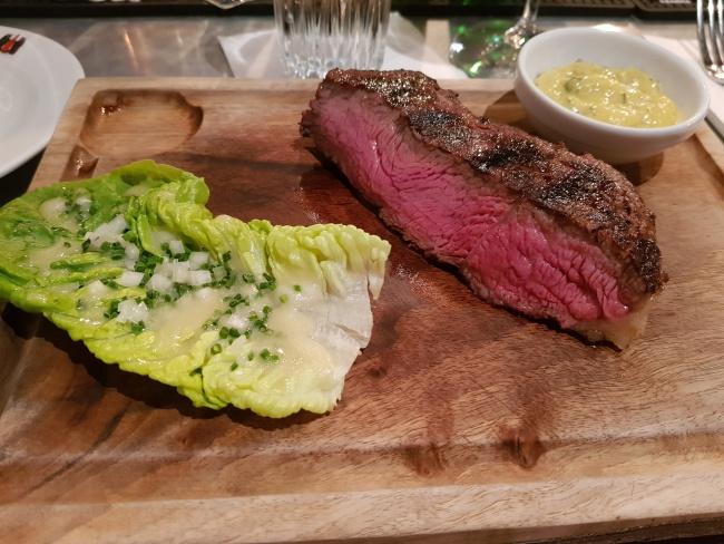 ワルシャワのステーキ