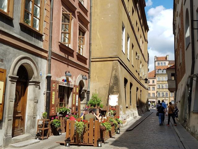 ワルシャワを街歩き